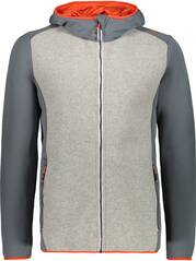 CMP Herren Sweatshirt MAN JACKET FIX HOOD