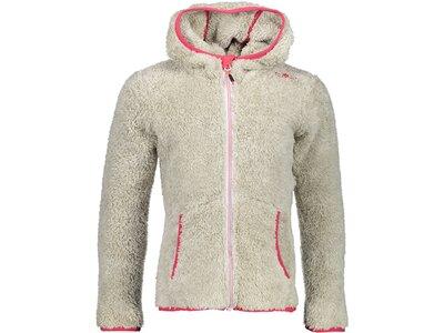 CMP Kinder Sweatshirt GIRL JACKET FIX HOOD Grau