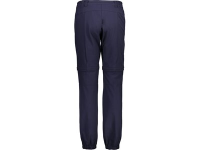 CMP Damen Outdoor-Hose WOMAN PANT ZIP OFF Blau