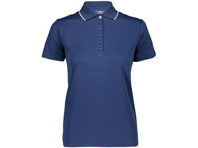 CMP Damen Poloshirt WOMAN POLO Blau