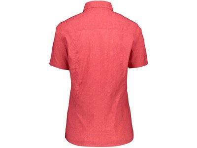 CMP Damen Bluse Kurzarm Rot