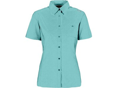 CMP Damen Bluse Kurzarm Blau