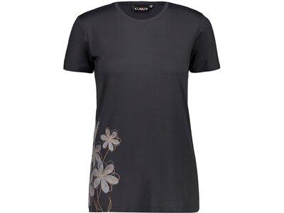 CMP Damen T-Shirt Schwarz