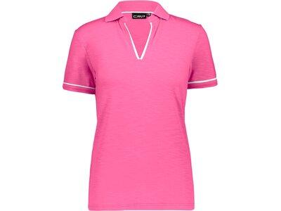 CMP Damen Poloshirt WOMAN POLO Pink