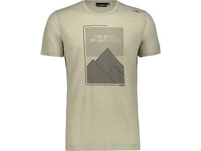 CMP Herren T-Shirt Braun