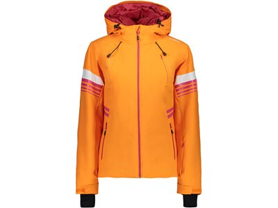 CMP Damen Jacke WOMAN JACKET FIX HOOD Orange