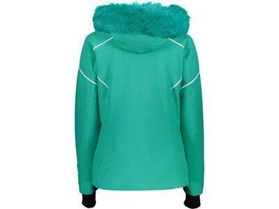 CMP Damen Jacke WOMAN JACKET ZIP HOOD Grün