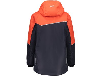 CMP Kinder Jacke BOY JACKET LONG FIX HOOD Orange