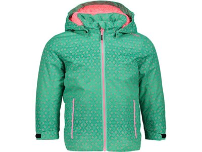 CMP Kinder Jacke CHILD JACKET SNAPS HOOD Grün