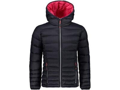 "CMP Mädchen Steppjacke ""Girl Jacket Fix Hood"" Grau"