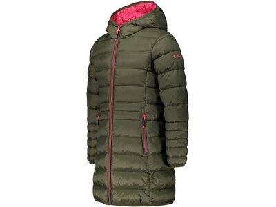 """CMP Mädchen Steppmantel """"Girl Coat Fix Hood"""" Grau"""