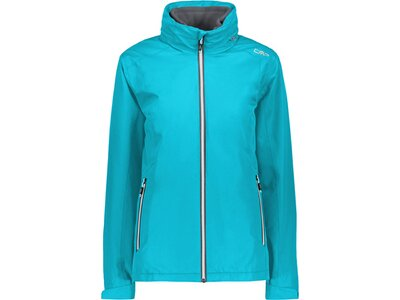 CMP Damen Jacke WOMAN JACKET ZIP HOOD DETACHBLE I Blau
