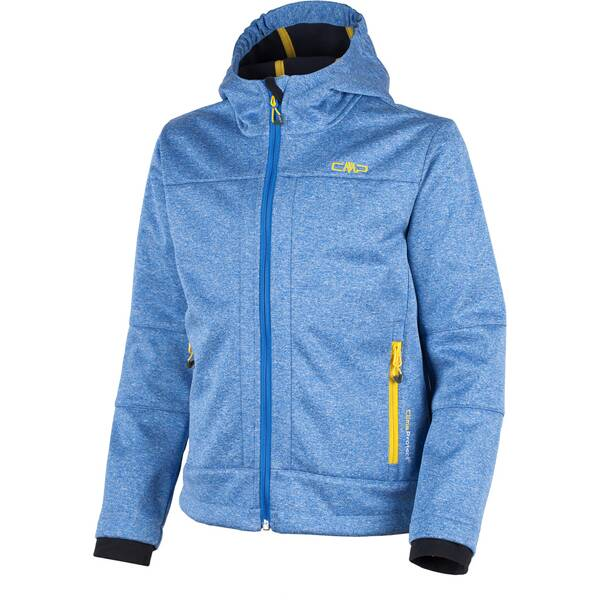 CMP Kinder Softshell-Jacke BOY JACKET FIX HOOD