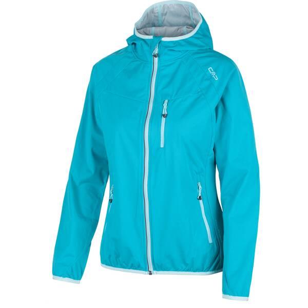 CMP Damen Funktionsjacke Fix Hood Jacket Blau