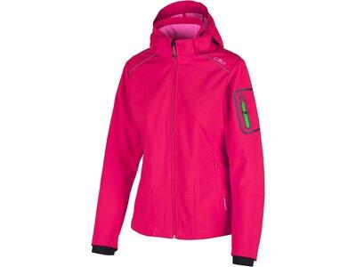 CMP Damen Outdoorjacke Fix Hood Pink