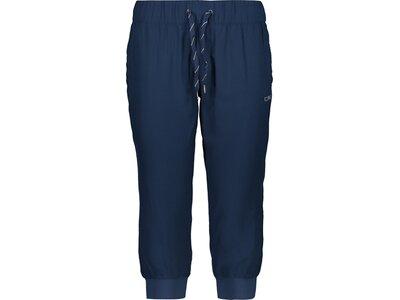 CMP Damen Shorts WOMAN PANT 3/4 Blau