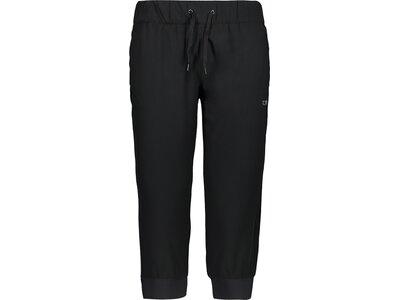 CMP Damen Shorts WOMAN PANT 3/4 Schwarz