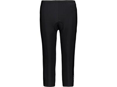 CMP Damen Shorts WOMAN PANT 3/4 BIKE Schwarz