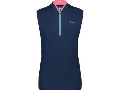 CMP Damen T-Shirt WOMAN BIKE SLEEVELESS T-SHIRT Blau