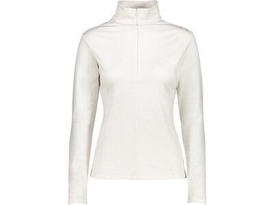 CMP Damen Rolli WOMAN SWEAT Fleece Weiß