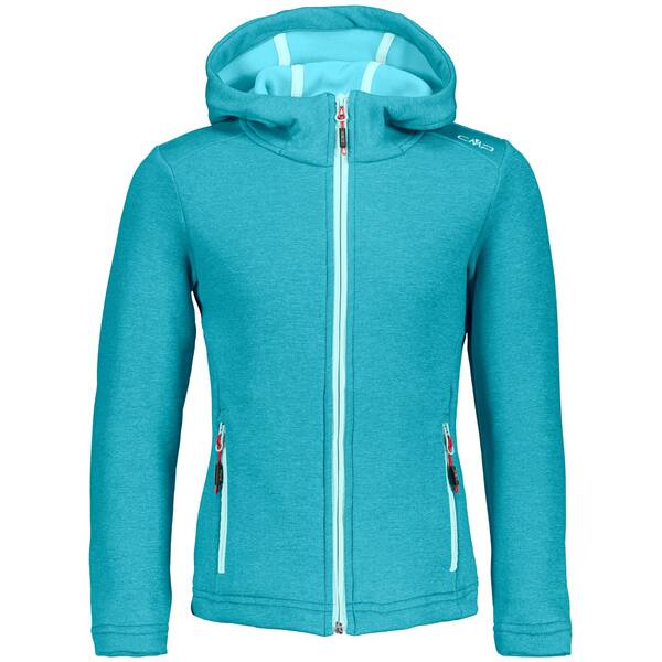CMP Kinder Fleecejacke GIRL JACKET FIX HOOD