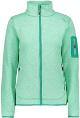 CMP Damen KNITTED MELANGE FLEECE JACKET