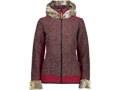 CMP Damen FIX HOOD JACKET Braun