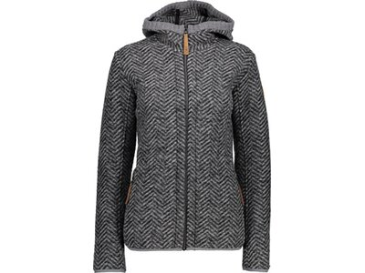 CMP Damen FIX HOOD JACKET Grau