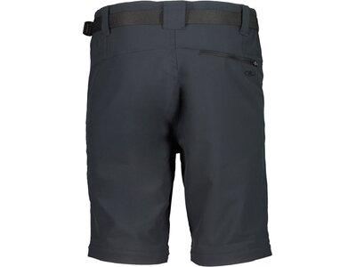 CMP Herren Shorts MAN PANT ZIP OFF Schwarz