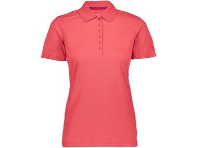 CMP Damen Poloshirt Pink