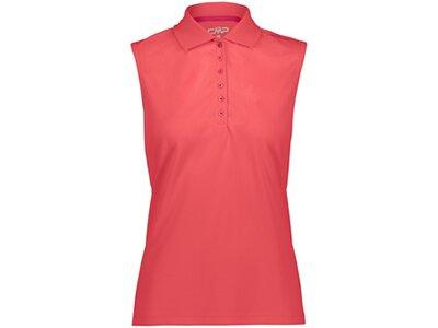 CMP Damen Poloshirt Rot