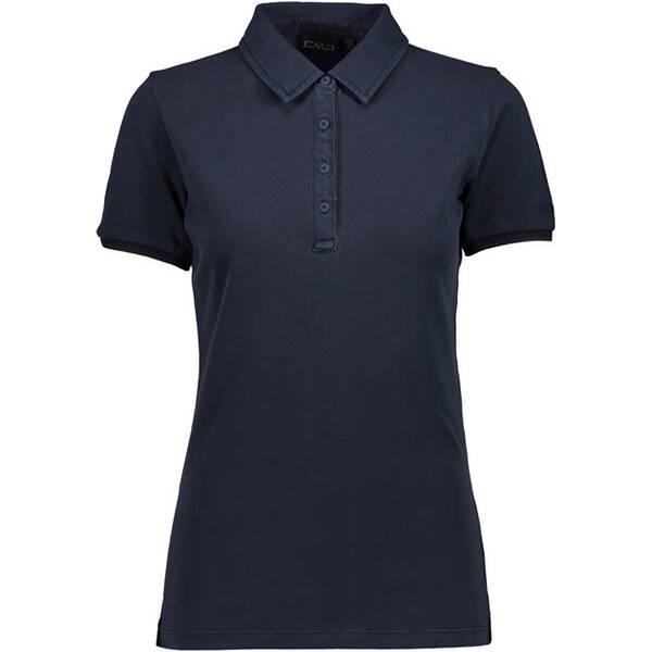 CMP Poloshirt BLACK BLUE