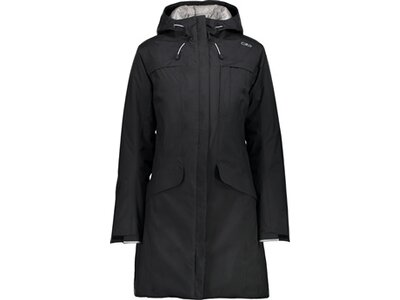 CMP Damen JACKET FIX HOOD Schwarz