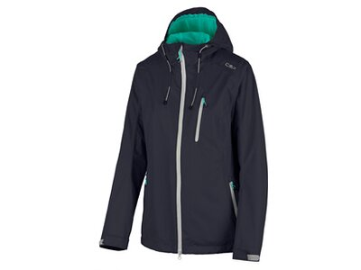 CMP Damen FIX HOOD JACKET Blau