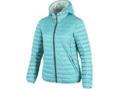 CMP Damen Daunenjacke Zip Hood Blau