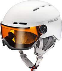 HEAD Skihelm QUEEN white
