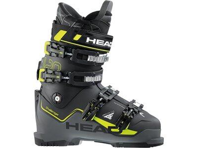 HEAD Skischuh CHALLENGER 120 BLACK/ANTH - YELLOW Schwarz