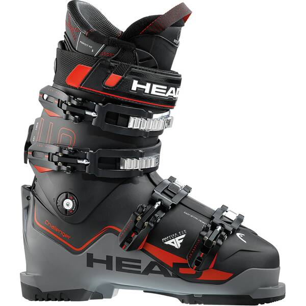 HEAD Skischuh CHALLENGER 110 BLACK / ANTHR - RED