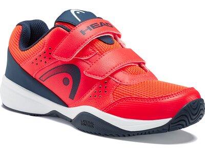 HEAD Kinder Tennis-Schuhe Sprint Velcro 2.5 Kids NRDB Rot