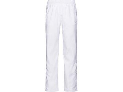 HEAD Herren Trainingshose CLUB Pants M Weiß