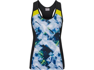HEAD Damen T-Shirt AVA Tank Top W Blau