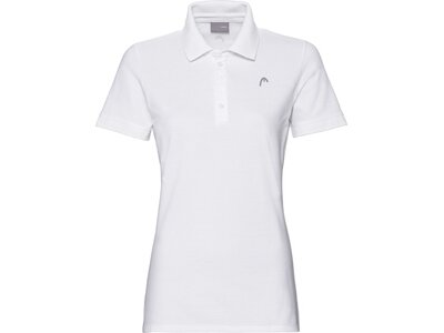 HEAD Damen Poloshirt HEAD Polo W Weiß