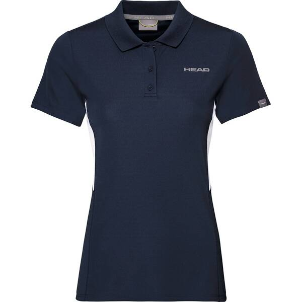 HEAD Damen Poloshirt CLUB Tech Polo Shirt W