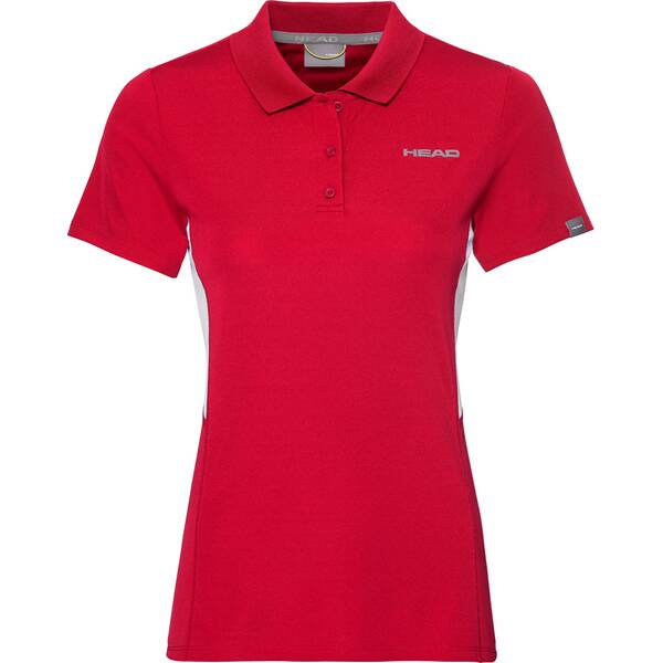 HEAD Damen Poloshirt CLUB Tech Polo Shirt W