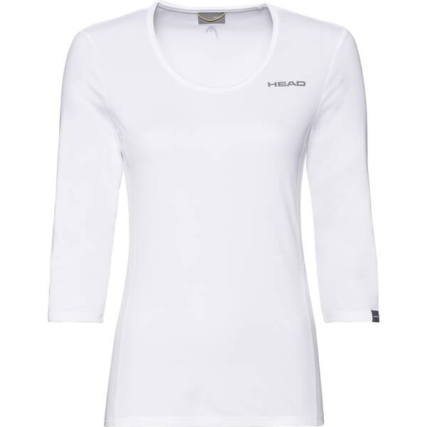 HEAD Damen T-Shirt CLUB Tech 3/4 Shirt W
