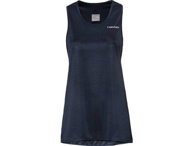 HEAD Damen T-Shirt CLUB A-Line Shirt W Blau