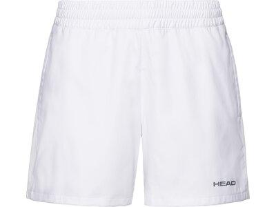 HEAD Damen Shorts CLUB Shorts W Weiß