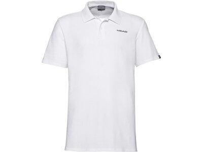 HEAD Herren Poloshirt CLUB BJÖRN Polo Shirt M Weiß