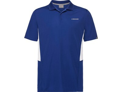 HEAD Kinder Poloshirt CLUB Tech Polo Shirt B Blau