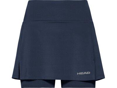 HEAD Damen Skort CLUB Basic Skort Long W Blau